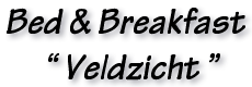 Bed & Breakfast Veldzicht